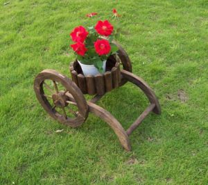 Brown Plant Holder Garden Pot for Flowers pictures & photos