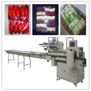 on Edge Multi-Rows Flow Packing Machine pictures & photos