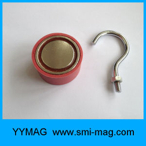 Removable Red Neodymium Round Magnet Hanging Hook pictures & photos