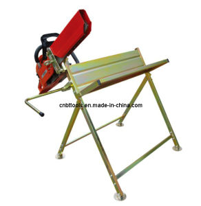 China Smart Foldable Sawhorse With Chainsaw Holder Bt