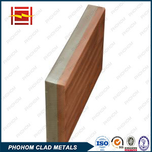 Electrical Arc Furnace Copper Steel Clad Plate pictures & photos