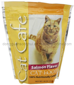 Stand-up/Resealable/Hot Sale/Laminated Cat Treat/Food Bag