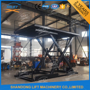 Ce TUV SGS 3.3m Hydraulic Scissor Car Lifts for Garages pictures & photos