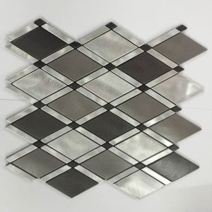 Aluminum Plastic Mosaic Floor Tiles for Sale pictures & photos