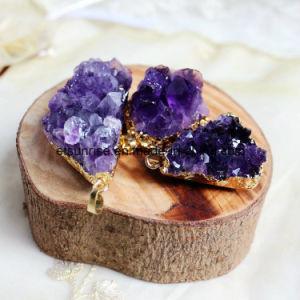 Semi Precious Stone Fashion Crystal Gemstone Beadjewelry Pendant (ESB01473) pictures & photos