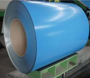Color Coated Steel Coil/PPGL/PPGI/Prepainted Steel Sheet (Ral 3009 8012 8017) pictures & photos