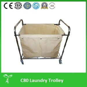 Professional Laundry Cart, Laundry Trolley, (C80) pictures & photos
