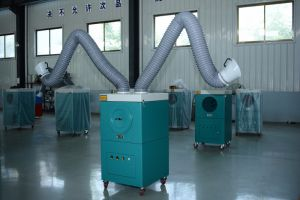 Portable Mobile Welding Fume Dust Collector for Welding pictures & photos