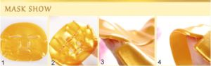 Nano Gold Collagen Patch Pure Natural Mask pictures & photos