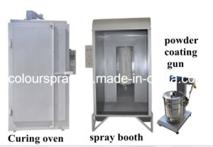 Small Manual Powder Coating Line pictures & photos