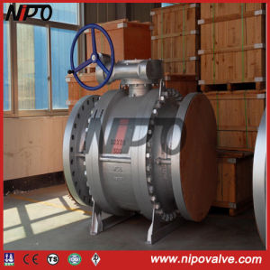API 6D Trunnion Mounted Ball Valve (Q47F) pictures & photos