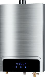 Forced Exhaust Gas Water Heater with Stainless Steel Shell Jsq--Hw-QC75 (8-12L) pictures & photos