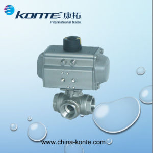Pneumatic Actuator Series- Different Seal Material for High or Low Temperature pictures & photos