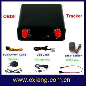 Multifunctional Obdii GPS Tracker Support Fuel Control / Speaker / Shock Sensor pictures & photos