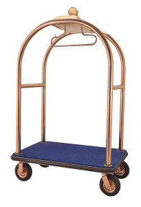 New Design Rose Gold Stainless Steel Handcart (DF66) pictures & photos