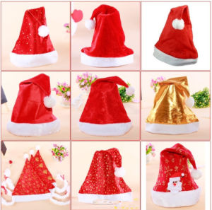 Promotion Christmas Gift Santa Cap Christmas Hat pictures & photos