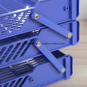 Plastic Three-Tier Letter Tray, File Tray pictures & photos