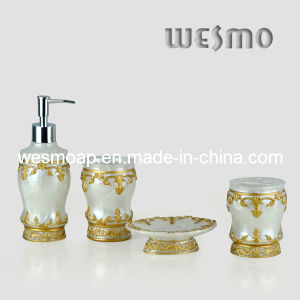 Middle East Style Polyresin Bath Set (WBP0257A) pictures & photos