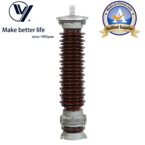 35kv Porcelain Housed Gapless Metal Oxidelightning Arrester (Y5WZ5-51/134) pictures & photos