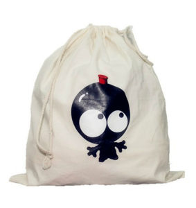 China Professional Customized Cotton Shopping Drawstring Bags pictures & photos