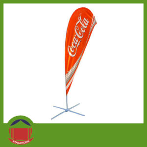 Custom Sublimation Printing Beach Flying Teardrop Flag Banner pictures & photos