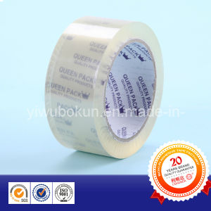 BOPP Adhesive Packing Tape in Double Printed Paper Core pictures & photos