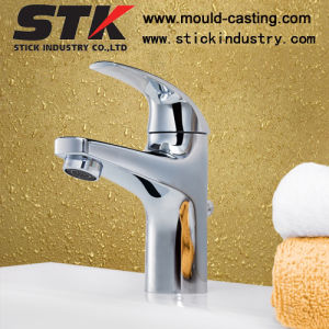 High Quality Brass Body Basin Faucet with Chrome Plating pictures & photos