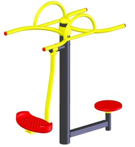 Outdoor Double Standing Twister Machine Fitness Equipment HD-12004 pictures & photos