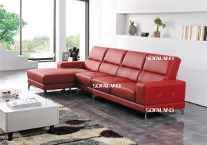 Leisure Italy Leather Sofa Modern Furniture (430) pictures & photos