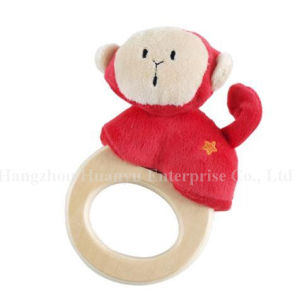 Factory Supply Kids Stuffed Plush Handbell Rattle Toy pictures & photos