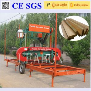 Labour Saving Wood Log Use 7.5kw Automatic Sawmill Machine pictures & photos