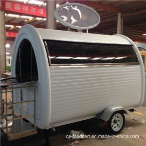 China Mobile Street Food Cart with LED Window pictures & photos