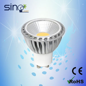 Dimmable GU10 COB 5W LED Spotlight pictures & photos