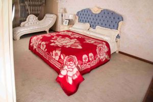 Woven Woolen Pure Wool Blanket (NMQ-WT013) pictures & photos