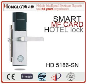Wireless WiFi Hotel Door Lock by Honglg Professional Manufacturer pictures & photos