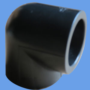 High Quality HDPE 90 Degree Elbow Water Supply PE Butt Fusion Pipe Fittings pictures & photos