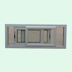 Powder Coated Thermal Break Aluminum Alloy Window with Latch Lock, Aluminum Sliding Window K01010 pictures & photos