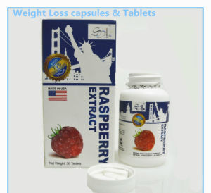 600g / Bottle Raspberry Drain Fat Oil Capsules & Tablet pictures & photos