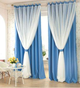 Organza Plain Vertical Blind Curtain Fabric (C2015008)