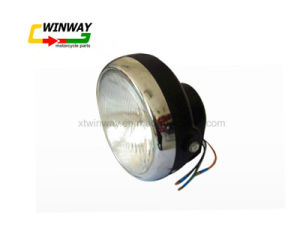 Ww-7186 Motorcycle Part Front Lamp Headlight for Jh70 pictures & photos