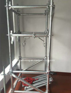 Galvanized Steel Ringlock Scaffold System for Construction pictures & photos