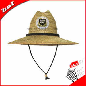 Natural Straw Hat Hollow Straw Hat pictures & photos
