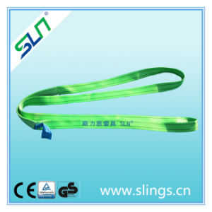 2t*5m Endless Polyester Webbing Sling Safety Factor 6: 1 pictures & photos