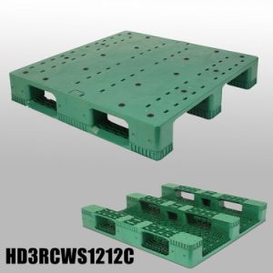 Transport Food Grade Plastic Pallet Manufacturing with HDPE pictures & photos