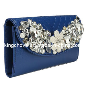 2014 Hot Diamond Fashion PU Wallet with Flap / Fashion Bag (KCW27) pictures & photos