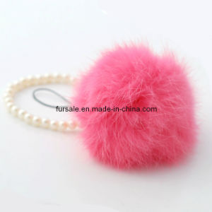 Rex Rabbit Fur Key Chain (rex rabbit fur key chain-12)