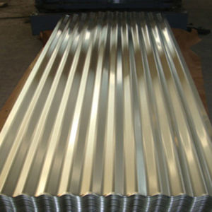 Galvalume Corrugated Steel Plate for Building pictures & photos