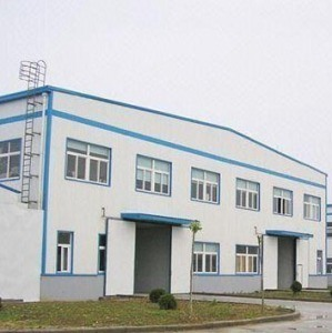 Sandwich Panel Wall Cladding Steel Structure Warehouse/Prefabricated Steel Structure House/Steel Structure Building pictures & photos
