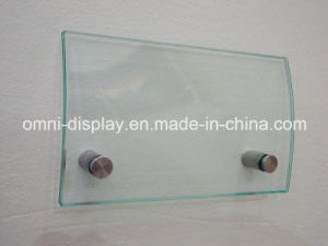 Stainless Steel Display Sign Standoff (Size 19*25mm) pictures & photos