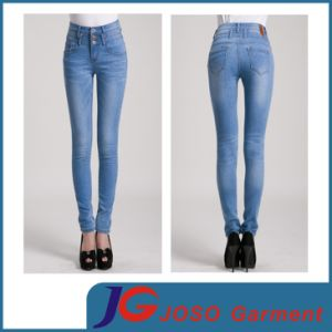 Women Skinny Twiggy China Doll Jeans(JC1290) pictures & photos